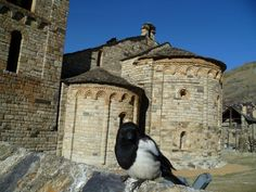 La Iglesia Sant Climent de Taüll – San Clemente de Tahull es parte del conjunto de iglesias románicas de La Vall de Boí, Patrimonio de la Humanidad UNESCO año 2000. #historia #turismo  http://www.rutasconhistoria.es/loc/san-clemente-de-tahull