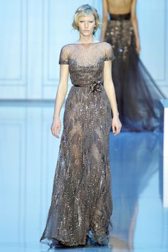 Elie Saab Fall 2011. This is a beauty! If only I needed a fancy event where I had to don an evening gown and had some crazy surplus of money in my life....