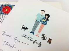 cho family portrait by rifle paper co.