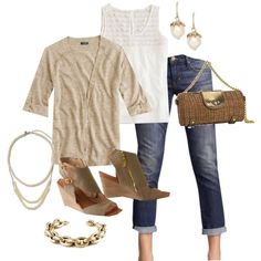 neutrals, created by shopwithm on Polyvore