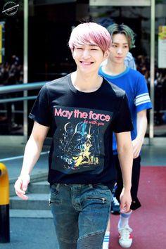 150522 По пути на Music Bank  #Shinee #Onew #ODD
