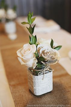 By Eclectic Images Photography, rustic centerpieces, Colorado Wedding Planner
