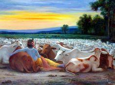 Krishna n cows Lord Krishna Images, Radha Krishna Images, Krishna Pictures, Krishna Photos, Hare Krishna, Radha Krishna Love, Krishna Lila, Radha Rani, Manado