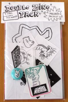 mildred double zine pack