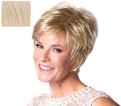 The Toni Brattin Timeless Short Cut wig features a short, classic cut with that ever-popular slight crown lift. Short Sassy Haircuts, Short Hairstyles For Thick Hair, Haircuts For Fine Hair, Short Hair With Layers, Layered Hair, Short Hairstyles For Women, Short Hair Styles, Casual Hairstyles, Hairstyles For Over 60