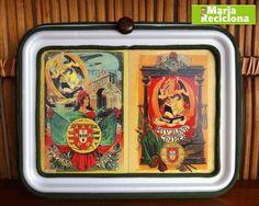 Reciclando bandeja de isopor você faz um belo quadro - retirado do Blog da maria reciclona http://mariareciclona.blogspot.com/ - POR UM MUNDO MELHOR