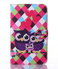 inShang T230 Case for Samsung Galaxy TAB 4 7.0 Inch T 230, With Color Painting Pattern, Stand Cover