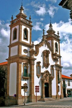 Church Igreja da Misericórdia in Guarda, Portugal