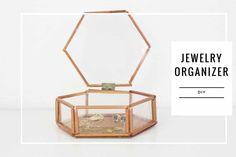 Presente Criativo – Porta Jóia Minimalista – Dia das Mães