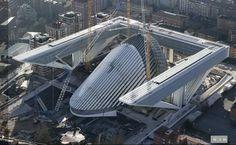 """Palacio de Congresos """"Princesa Letizia"""", Oviedo, Spain. By architect Santiago Calatrava"""