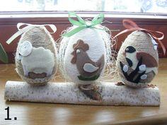Ozdoby wielkanocne jajka