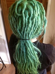 Love green dreads!