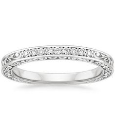 A dainty engagement ring--perfect for those days when you want low-key bling!