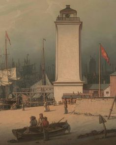 The low lighthouse, North Shields. 1828. #art #northshields #northtyneside #england #tyne