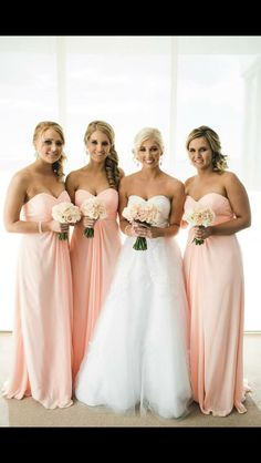 Light Pink Bridesmaid Dresses, Sweetheart Chiffon Long Bridesmaid Dresses, Sleeveless Bridal Gowns sold by MissZhu Bridal. Shop more products from MissZhu Bridal on Storenvy, the home of independent small businesses all over the world. Color Durazno, Light Pink Bridesmaid Dresses, Bridesmaid Color, Pink Bridesmaids, Dress Vestidos, Chiffon Dresses, Before Wedding, Marie, Peach Wedding Theme