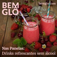 Vem aprender a preparar 3 drinks sem álcool refrescantes pra lá de deliciosos e do bem :3 Aprenda aqui>
