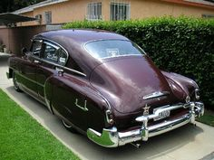 1951 Chevy fastback.
