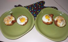 Made the Bacon and Egg in a Toast Cup. I added some cheese to a few of them and of course a little extra bacon, which I crumbled up in the bottom. My only issue was the waste of bread by removing the crust, I think next time I will leave the crust on, adds character :-)..yum yum. I used the recipe this recipe http://www.marthastewart.com/330179/bacon-egg-and-toast-cups?czone=holiday/spring-celebrations-cnt/celebration-mother-day