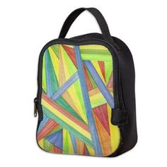 Abstract Design Kid's Carry/Lunch Bag