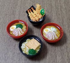 1:6 Scale Dollhouse Miniature Food Japanese Ramen Noodles Barbie Blythe Non-edible food Photography Props Cute Kawaii DIY Craft