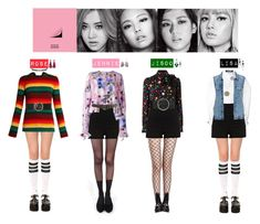 """BLACK PINK - WHSTILE❤️"" by vvvan99 ❤ liked on Polyvore featuring Pretty Polly, Stance, River Island, Miss Selfridge, N°21, Jacquemus, Yves Saint Laurent, Maison Boinet, Alexander Wang and Kimberly McDonald"