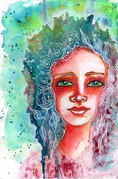 Exploring Watercolor Portraits...and more
