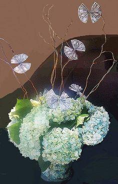 Money Tree Hydrangea Design