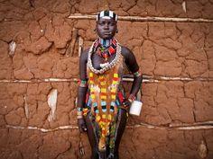 Hamar Portrait, EthiopiaPhotograph by Pascal Mannaerts
