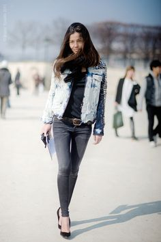 MY FASHION TRICKS: Street style: Barbara Martelo (stylist, Vogue Spain)