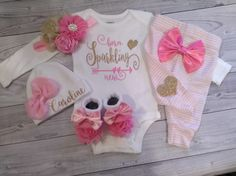 baby girl coming home outfit newborn take home outfit