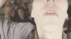 [Gif] Benedict trying to take a group photo <--- I love this man so very much.