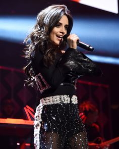 "1,323 curtidas, 4 comentários - CAMILA OUT JANUARY 12TH (@camilasupdates) no Instagram: ""Camila on stage at #Z100JingleBall tonight. (16)"""