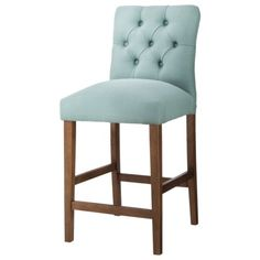 These will be in my new house! Threshold 24 Brookline Tufted Counter Stool
