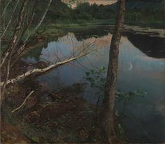 Summer Night Eilif Peterssen 1886