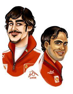 Ferrari Boys by forskuggad.deviantart.com on @deviantART