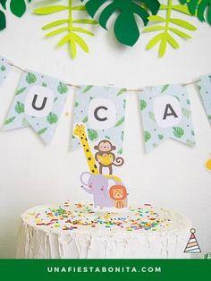 topper para tarta fiesta de la selva -Imprimibles para fiestas temática - Kit de fiesta para cumpleaños, baby shower, primer añito y fiestas temáticas - DESCARGA INSTANTÁNEA - #fiestadelaselva#fiestadesafari#fiestastematicas#cumpleaños#cumpleañosinfantil#niños#ideasfiesta #cumpleañosdelaselva#decoracionparacumpleañosdelaselva#decoracionparacumpleañostematicodelaselva#fiestadelaselva#fiestatematicadelaselva#ideasparacumpleañosdelaselva#ideasparafiestadelaselva Jungle Party, Goodie Bags, Party Themes, Party Ideas, Party Party, Holiday Parties, Baby Shower, Birthday Parties, Unique Gifts