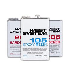 Our range of West System epoxy resins & hardeners and wood working and boat building products. Shop online easily with Australia-wide shipping. West System Epoxy, Building Products, Resins, Boat Building, Flask, Wood Working, Range, Australia, Shop