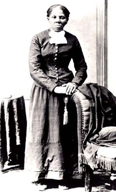 "Harriet Ross Tubman (1819-1913), the Moses of her people. Born into slavery of two purely African parents, she was a slave, spy for the Union army, wife, abolitionist, faithful Believer, and ""conductor"" for the Underground Railroad. all this, while suffering from chronic, excruciating headaches from being hit with an iron as a child by a white overseer. i think she's utterly amazing."