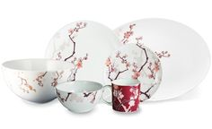 Cherry Blossom dishs designed by Paul Timman.