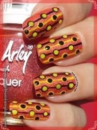 Curtains Nail Art Tutorial by Nails From Fairy Tale