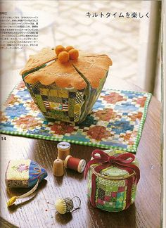 Quilts Japan - log cabin 3 ~ Issue 106 Sept '09
