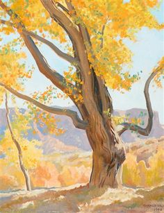 View October Morning by Maynard Dixon on artnet. Browse upcoming and past auction lots by Maynard Dixon. Landscape Art, Landscape Paintings, Western Landscape, Maynard Dixon, Southwestern Art, Wow Art, American Artists, Pastel, Online Art