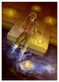 Quatre - Calendar 2007 by Lorialet on DeviantArt Gundam Wing, Mobile Suit, 4 Life, Warriors, Nerdy, Communication, Calendar, Deviantart, Manga
