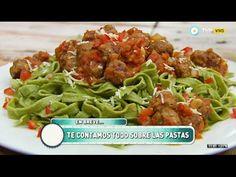 Cocineros Argentinos - Fideos de harina integral y espinacas