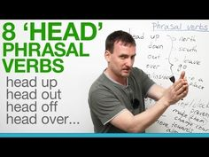 8 'head' phrasal verbs - head up, head out, head off... - YouTube