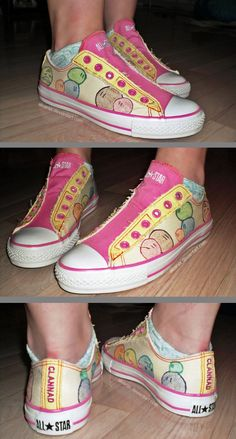 Clannad :: Dango Converse by ~Akiarax on deviantART. But more importantly, SON OF A BITCH, LOOK AT HER ANKLE FLESH. YOWZA. THIS IS WHY I WEAR HIGHTOPS, PEOPLE, THIS IS WHY.