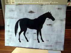 diy horse sign @Krystal Thanirananon Eiland Vaith