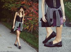 Zara loafers and dress #summerlook