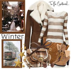 """Winter's Kiss Set Two"" by jacque-reid ❤ liked on Polyvore"