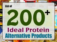 There are many protein products available from various brands most are available. - There are many protein products available from various brands most are available online and some ar - Low Carb High Protein, High Protein Foods List, Good Sources Of Protein, Best Protein, High Protein Recipes, Healthy Recipes, Keto Recipes, Ideal Protein Alternatives, Healthy Food Alternatives